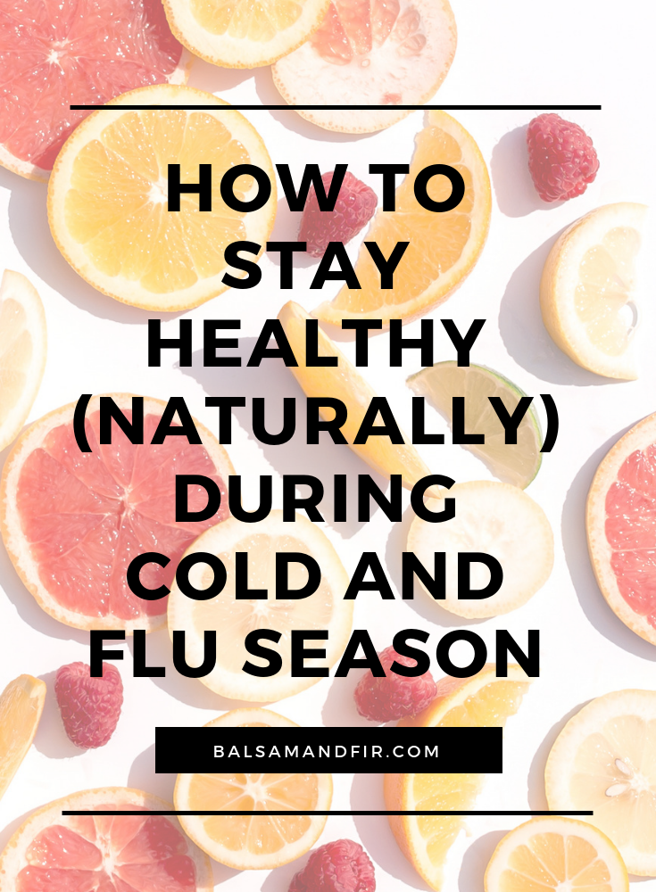Throughout the winter months, it can feel like a full-time job to keep yourself and your family healthy! Click through to read about my favorite ways to boost your immune system and stay naturally healthy during cold and flu season.  Natural Wellness | Healthy | Essential Oils | Elderberry Syrup  #naturalwellness #healthy #naturalhealth #essentialoils