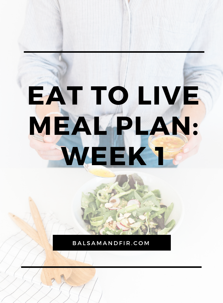 When you've got 50 pounds (or more) to lose, you've got to make radical changes. I made it through the first week of Dr. Fuhrman's Eat to Live plan and it was easier than I thought. I didn't even have any detox symptoms. Click through to learn about what I'm eating, the supplements and essential oils that are supporting me and how much weight I've lost.  Eat to Live | Weight Loss | Detox | Nutritarian
